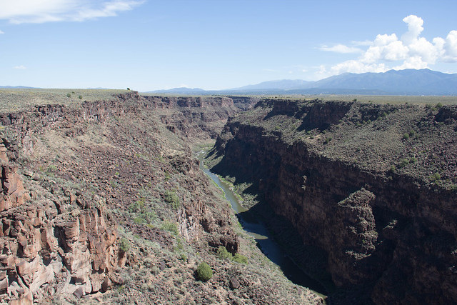 View from Rio Grande Gorge Bridge
