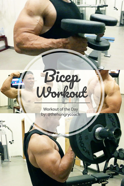 BIcep Workout by TheHungryCoach