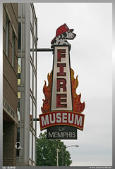 Fire Museum of Memphis Sign