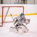 7-year-old ice hockey goalkeeper