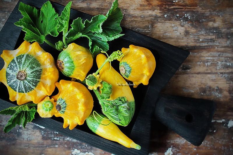 ...cute yellow decorative pumpkin