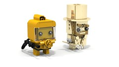 Brickheadz Minifigure Collection Stars