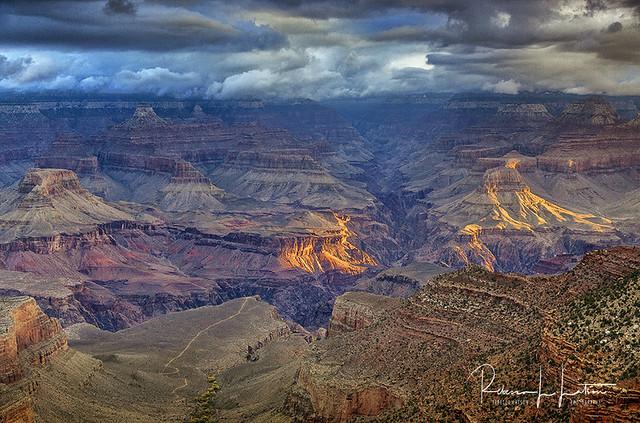 Bright Angel Sunrise, Grand Canyon National Park, Arizona