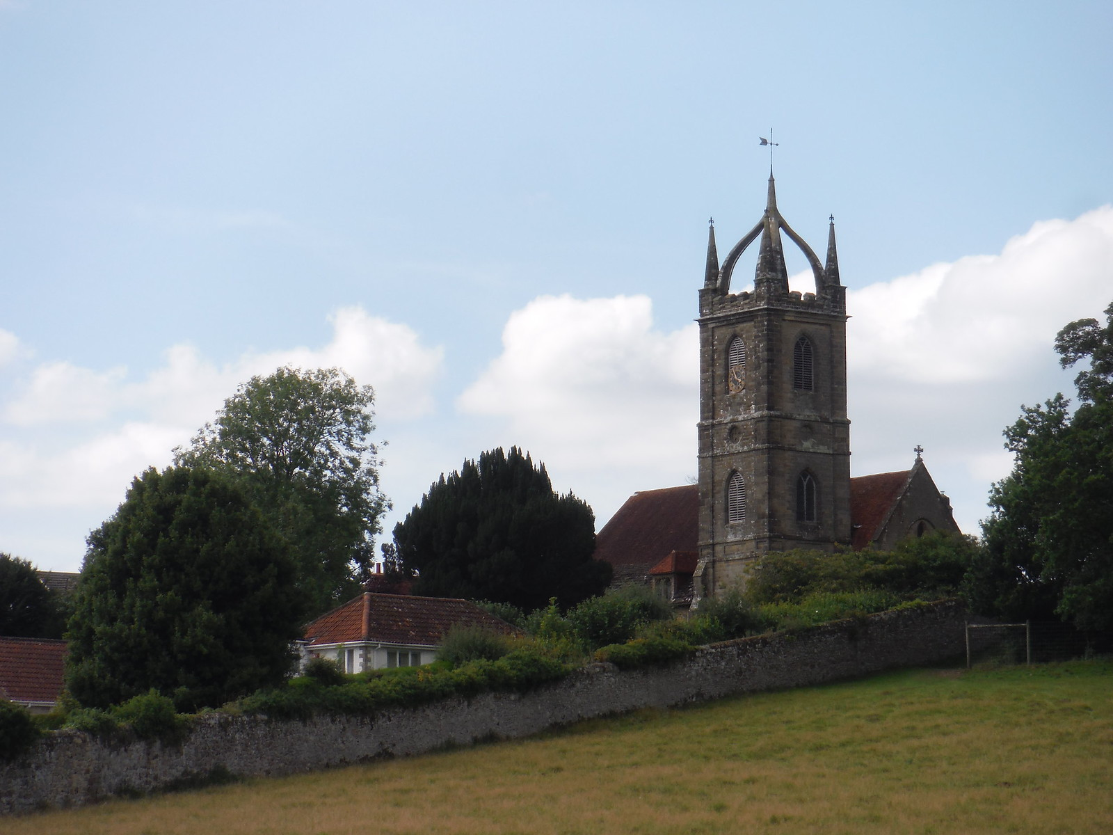 All Hallows Church, Tillington with Upperton and River SWC Walk 294 - Pulborough to Halfway Bridge (via Tillington)