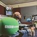 Albert Man at BBC Essex with Tony Fisher
