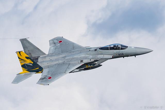 Komatsu AB Airshow Rehearsal 2017.9.14 (1) 306SQ F-15J #096