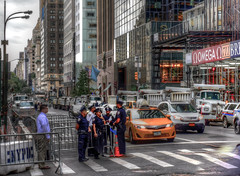 Ah, the beauty of 5th Ave.  Hail to the chief.