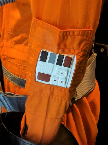 Luke's Pilot Costume Detail