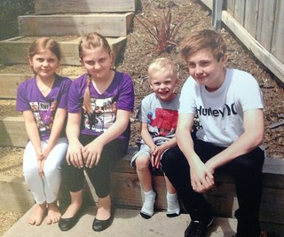 Four of the great grandchildren