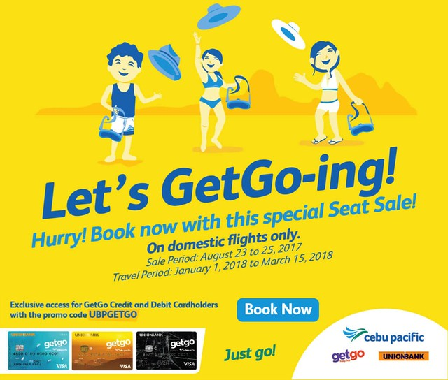 Cebu Pacific Air Promo Let's GetGo-ing