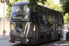 Wrightbus NRM NBFL - LTZ 1168 - LT168 - Mango - Hammersmith 10 - RATP Group - London 2017 - Steven Gray - IMG_9069
