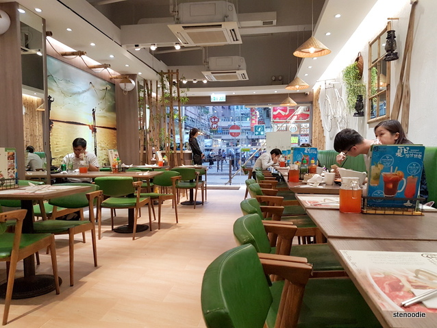 North Viet Pho Tai Kok Tsui interior