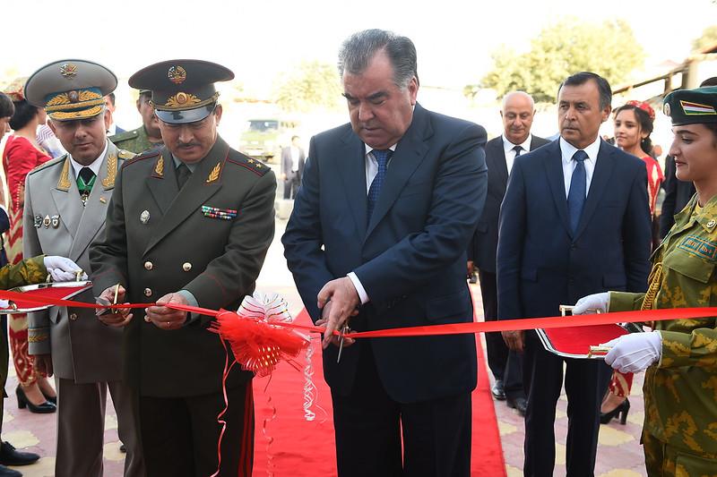 Сафари корӣ ба ноҳияи Панҷи вилояти Хатлон 18.08.2017