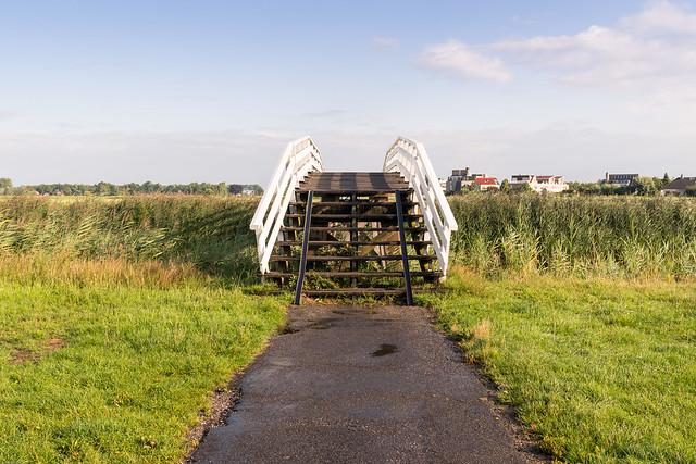 Brücke auf einer Radroute