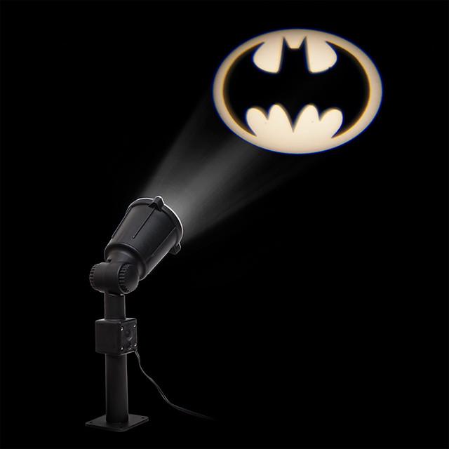 決定了!今晚就來呼喚蝙蝠俠吧~ThinGeek【蝙蝠標誌投影燈】Batman Bat Signal Projector