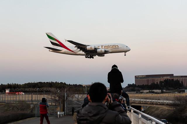 A6-EUE | Emirates | A380-800 | Tokyo Narita