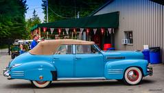 1941 Cadillac Series 62 convertible 4 door sedan