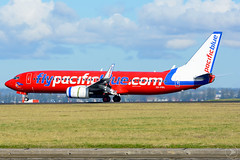 PACIFIC BLUE AIRLINES B738   ZK-PBL   YSSY