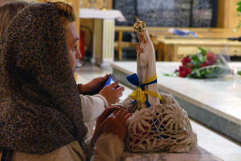 100-lecie objawień Fatimskich, Sanktuarium MB Fatimskiej na Krzeptówkach, 21 VIII 2017
