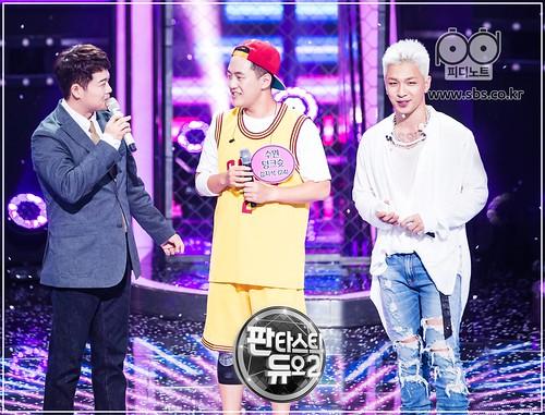 Taeyang Fantastic Duo 2 SBS August 2017 (5)