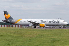 G-TCDY Thomas Cook Airlines A321 London Stansted Aiprort