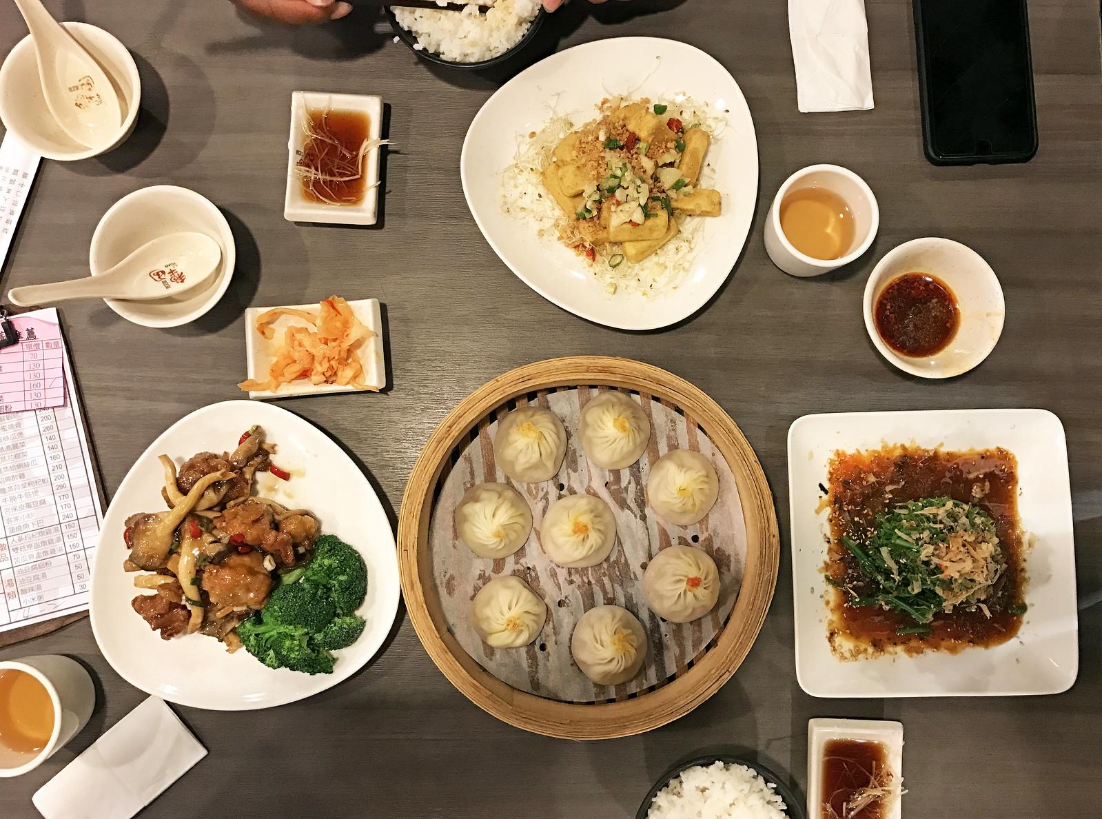 Dinner at Li Yuan Dumplings