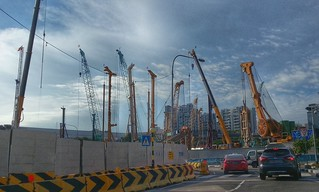 Road construction / tunnelling, Singapore