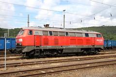 DB Schenker 225 015-Trier-Ehrang Rbf