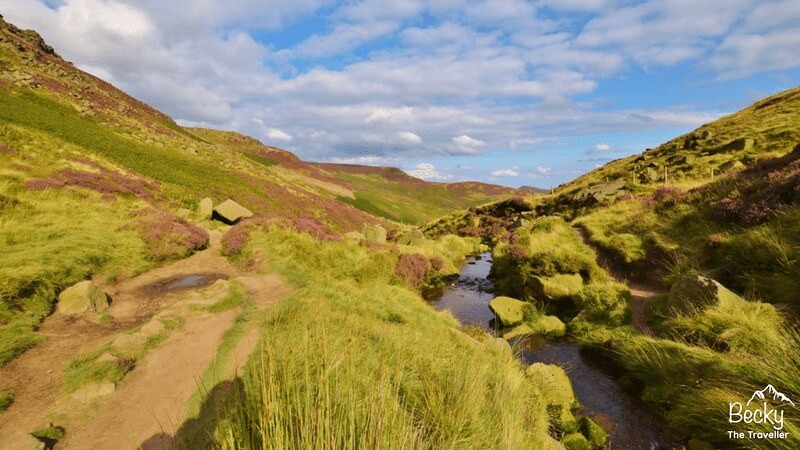 Peak district - Edale to Kinder Scout
