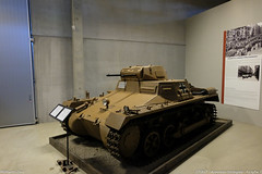 Panzerkampfwagen I at Arsenalen Strängnäs (S)