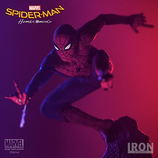Iron Studios Battle Diorama 系列 蜘蛛人:返校日【蜘蛛人】Spider-Man: Homecoming Spider-Man 1/10 比例決鬥場景作品