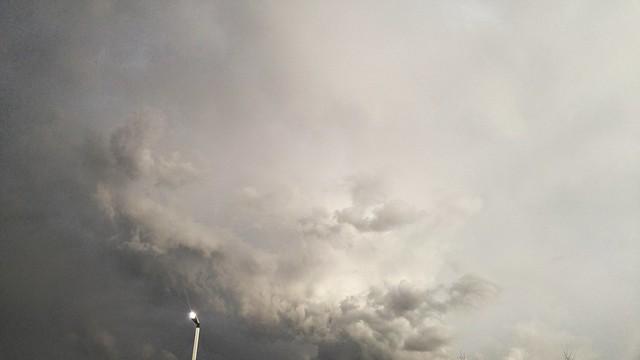 Storm clouds - Lansing, Michigan tonight