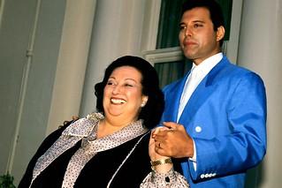 Freddie Mercury & Montserra Caballe @ London - 1987