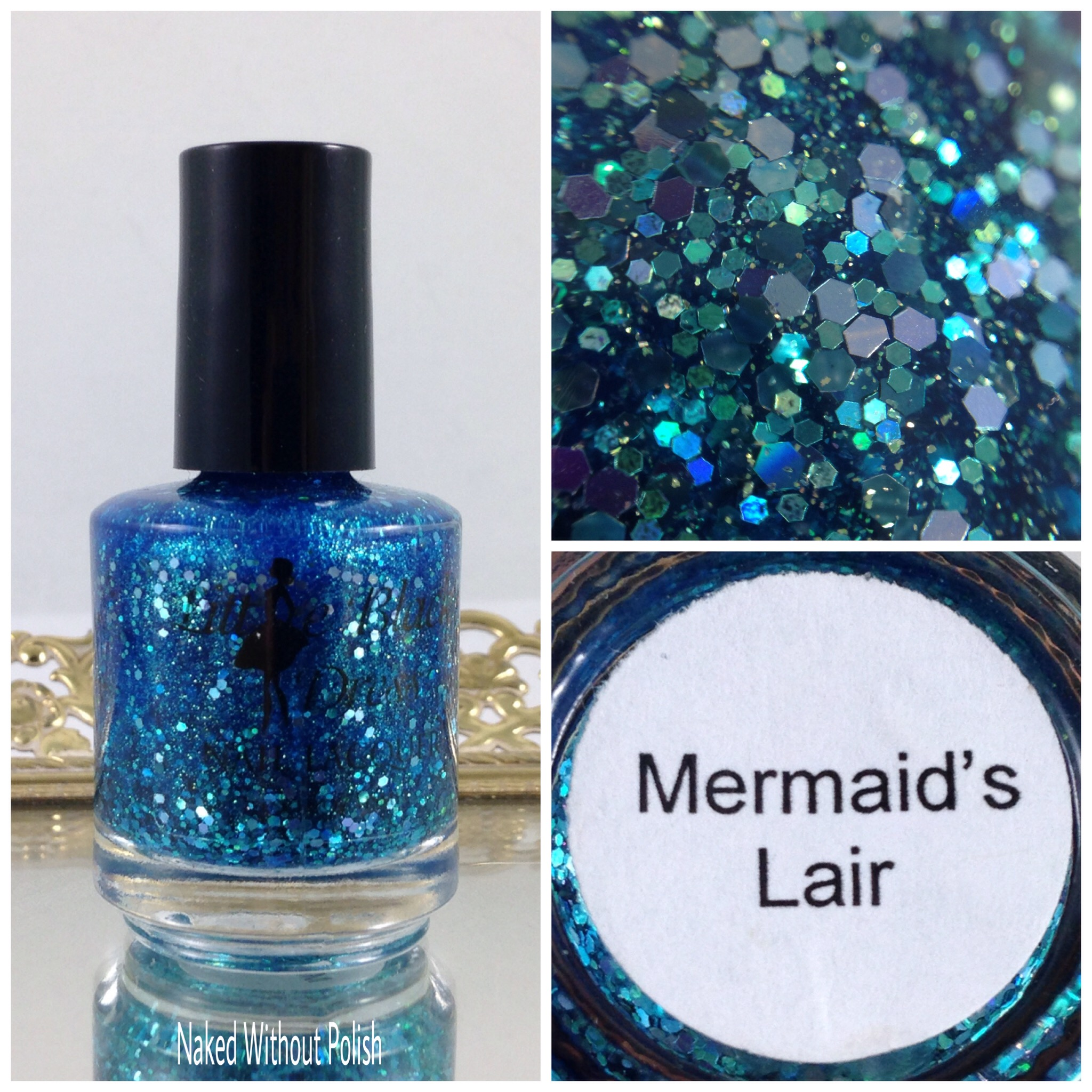 Little-Black-Dress-Nail-Lacquer-Mermaids-Lair-1