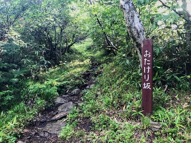 銚子ヶ峰 おたけり坂