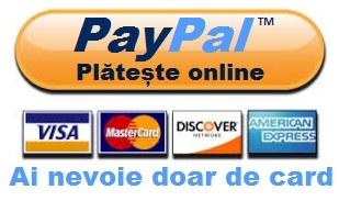Consultatii medicale online cu plata online prin Paypal