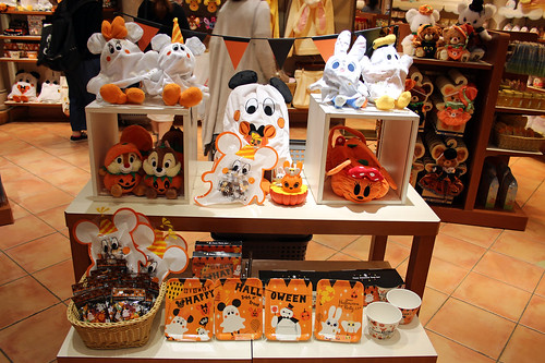 Halloween at Disney Store Shibuya