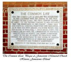 Common Law - Originating in England