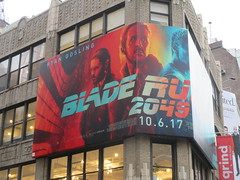 Blade Runner 2049 Billboard 30th St 2017 NYC 0565