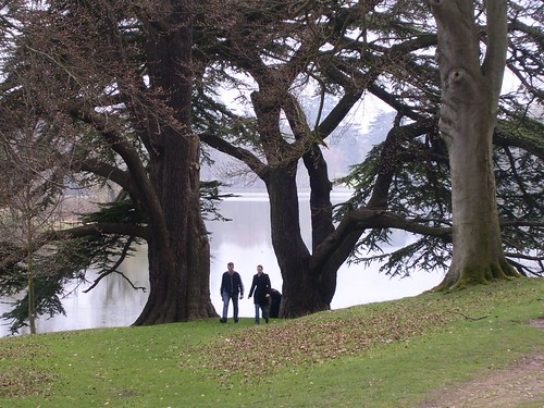 Blenheim Palace grounds