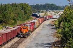 BNSF 1991 | EMD SD40-2 | BNSF Tennessee Yard