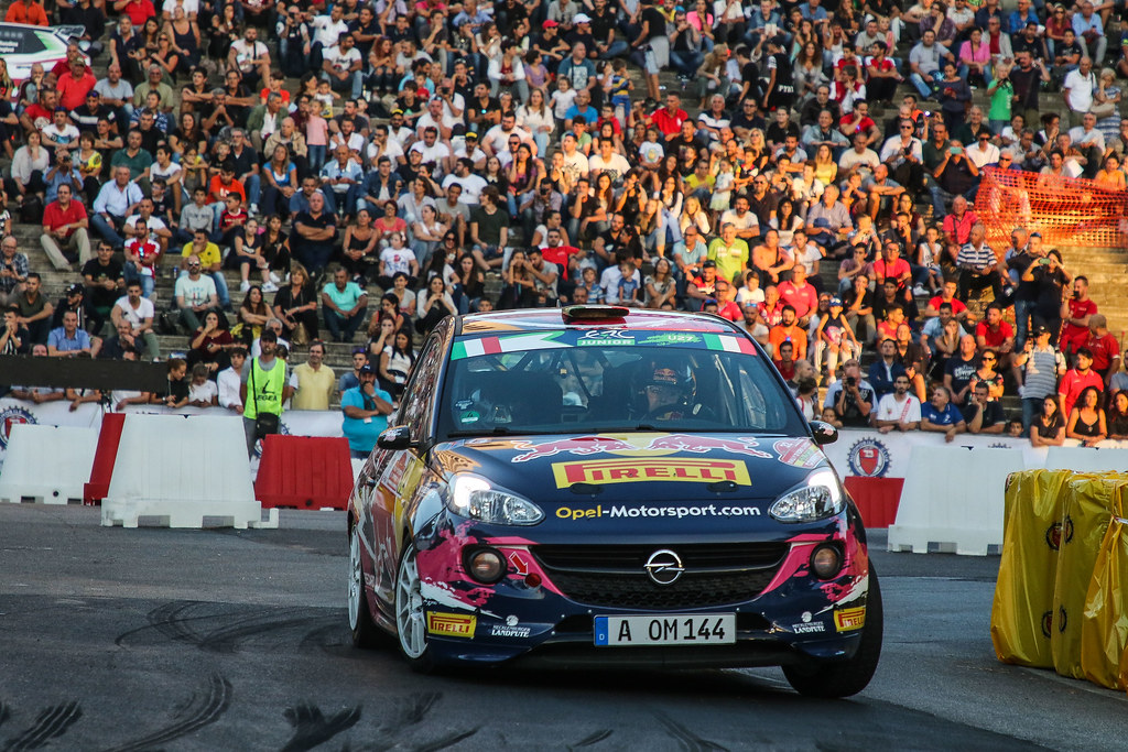 32  MOLINARO Tamara (ITA) BERNARCCHINI  GIOVANNI (ITA)  Opel Adam R2 action during the 2017 European Rally Championship ERC Rally di Roma Capitale,  from september 15 to 17 , at Fiuggi, Italia - Photo Jorge Cunha / DPPI