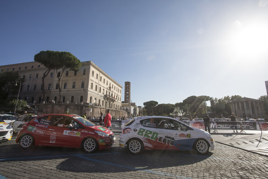 31 during the 2017 European Rally Championship ERC Rally di Roma Capitale,  from september 15 to 17 , at Fiuggi, Italia - Photo Gregory Lenormand / DPPI