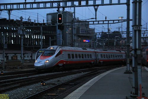Trentitalia Alstom ETR610 #93 85 5610 012-2 CH-IT