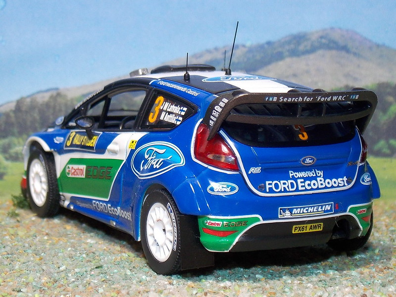 Ford Fiesta RS WRC - Suecia 2012 - IXO