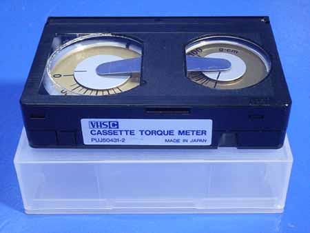 Radio JVC PUJ50431-2 CASSETTE TORQUE METER