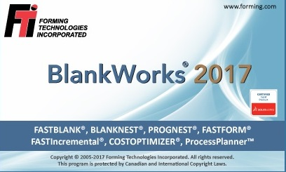 Download FTI BlankWorks 2017.0 for SolidWorks 2010-2018 x64 full crack