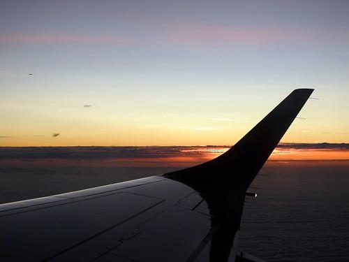 In volo verso Londra