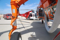 LAFD Debuts Newest Helicopter alongside Helitanker at Van Nuys Airport
