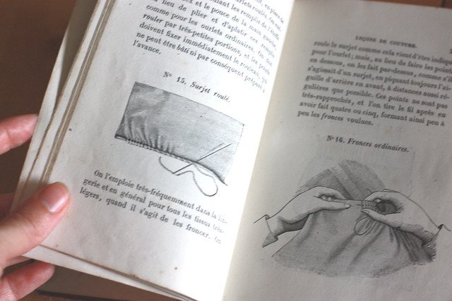 Leçons de couture de 1864